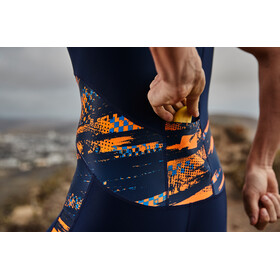 Zone3 Activate Plus Trisuit Men track speed-navy/orange/blue